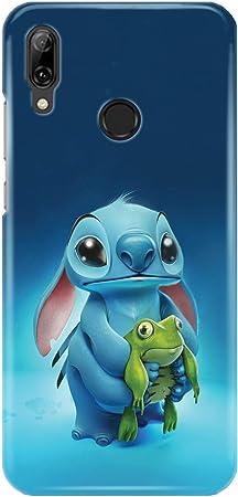 Coque téléphone pour Huawei P Smart 2019 Lilo and Stitch Ohana Cute Sweet Disney 20 Dessins