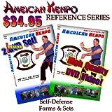 American Kenpo Blue and Green Belts, 2 DVD SET Starring Tim Bulot American Kenpo Karate Self Defence