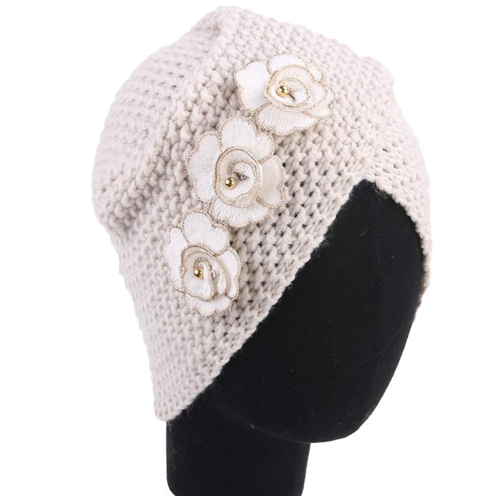 Ssowun Sombrero Turbante de Lana Vintage d982fb938f0
