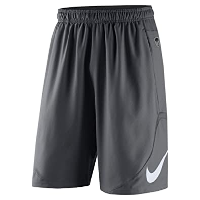 New Nike Men's Untouchable Woven Football Shorts Dk Grey/Anthracite/White  Small