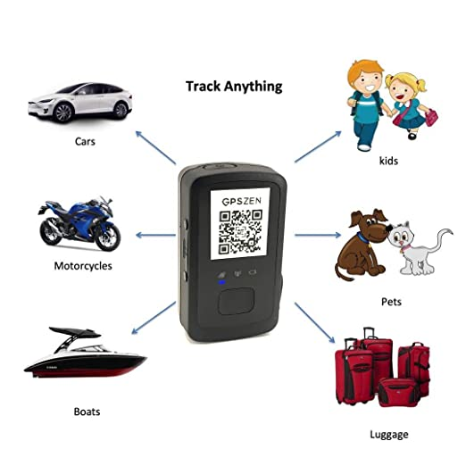 Amazon.com: GPSZEN Mini GPS Tracker LTE-300 Portable Real ...