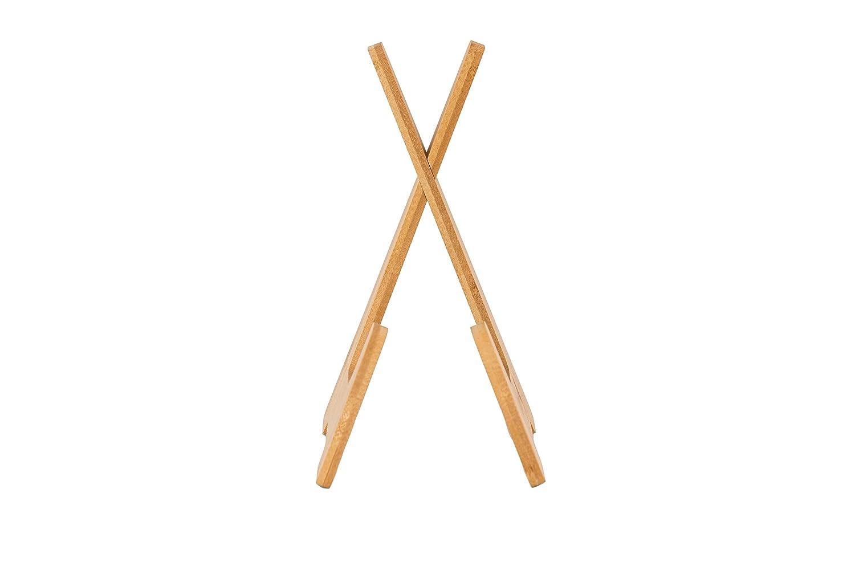 Atriles Partitura Y#x267B; Purple Leaf Bambu Atril para Libros Y#x267B; Soporte Tablet