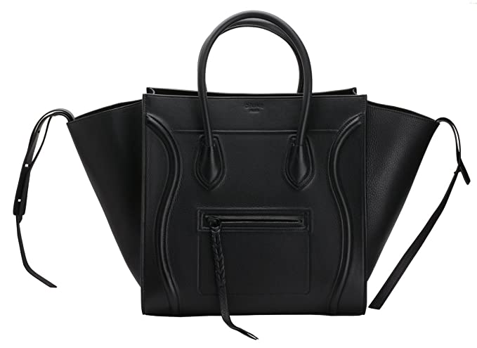 cf9b34748e08 Image Unavailable. Image not available for. Colour  Celine Medium Luggage  Phantom Tote Handbag Black