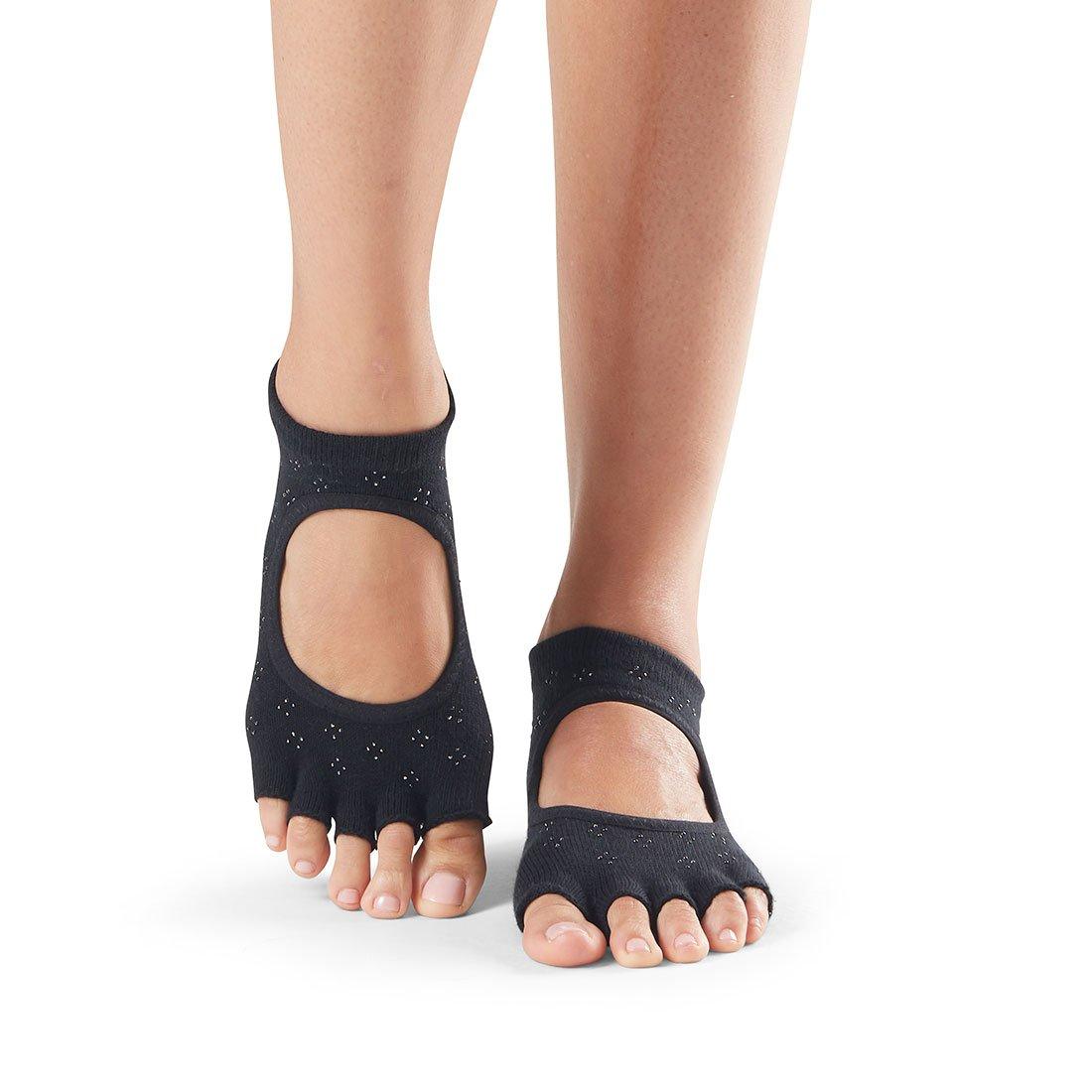 toesox Womens Grip Half Toe Bellarina