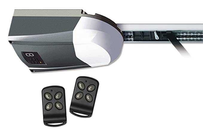 Schellenberg 60910 Garagentorantrieb Smart Drive 10/Antrieb für Tore bis 10 m², Kraft 600 N/inkl. zwei Handsender 433 MHz und