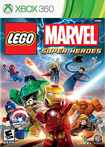 Lego: Marvel Super Heroes, XBOX 360 (Best 4 Player Wii Games)