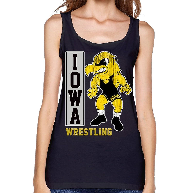 Women's NCAA University Of Iowa UI Iowa Hawkeyes Wrestling Tank Top-