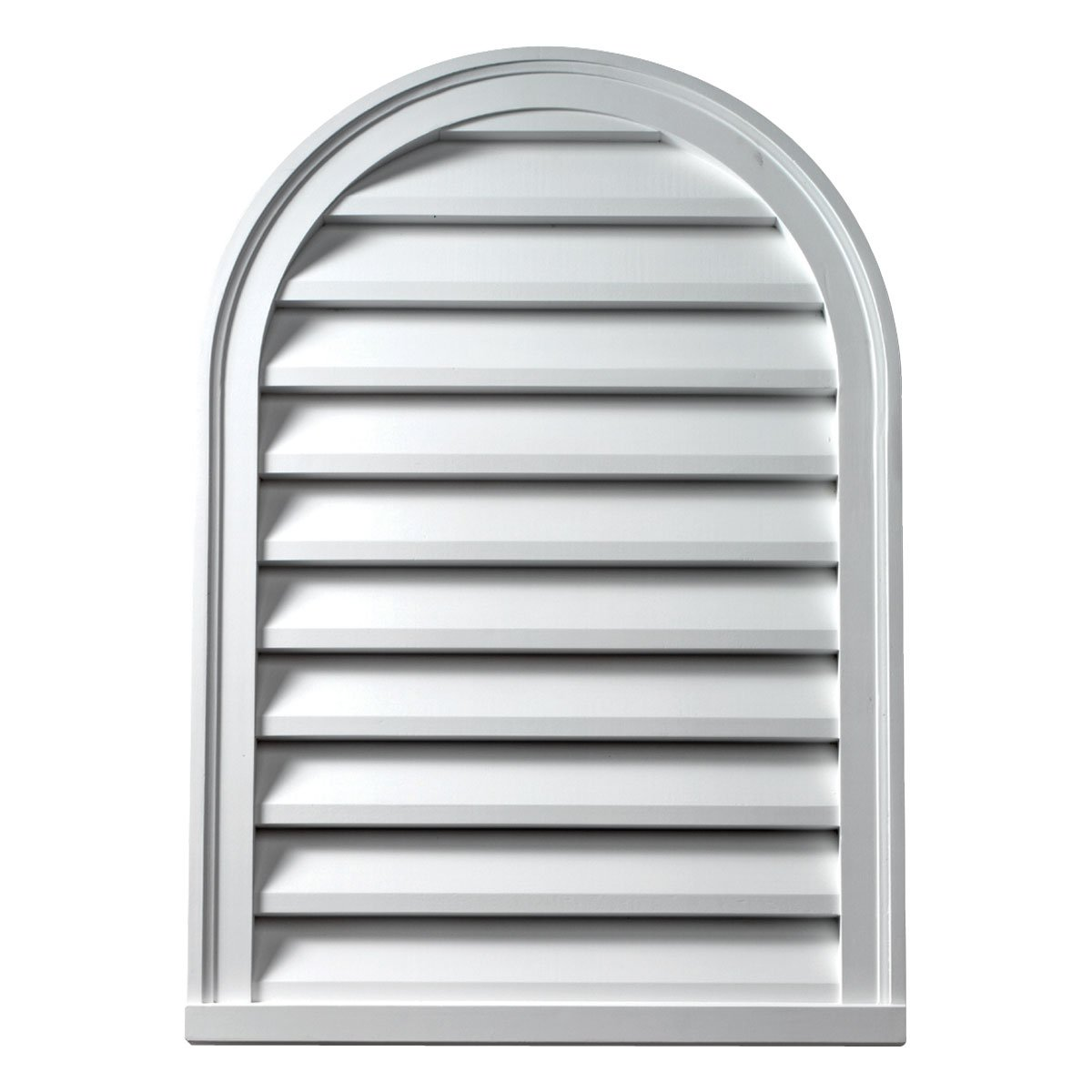 Fypon CLV24X48 24''W x 48''H Decorative Cathedral Louver