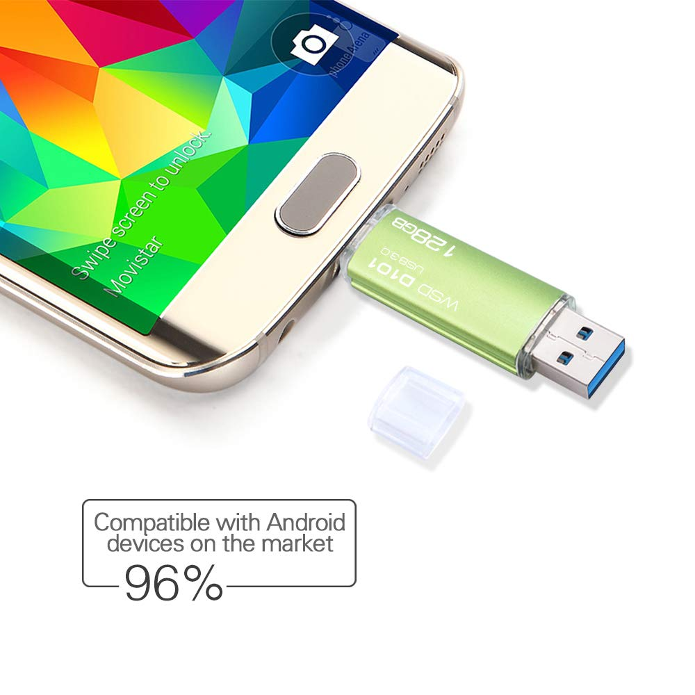 Amazon.com: Unidad Flash USB 3.0 wansenda D101 Android OTG ...