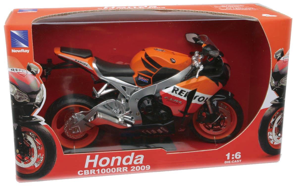 Amazon.com: 2009 Honda CBR1000RR Repsol 1:6 Scale Diecast Motorcycle ...