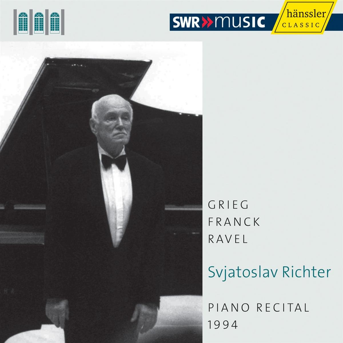 Ravel: Valses Nobles; Miroirs / Grieg: Lyric Pieces / Franck: Prelude, Choral & Fugue, M. 21 (Recital 1994) by Haenssler Classics