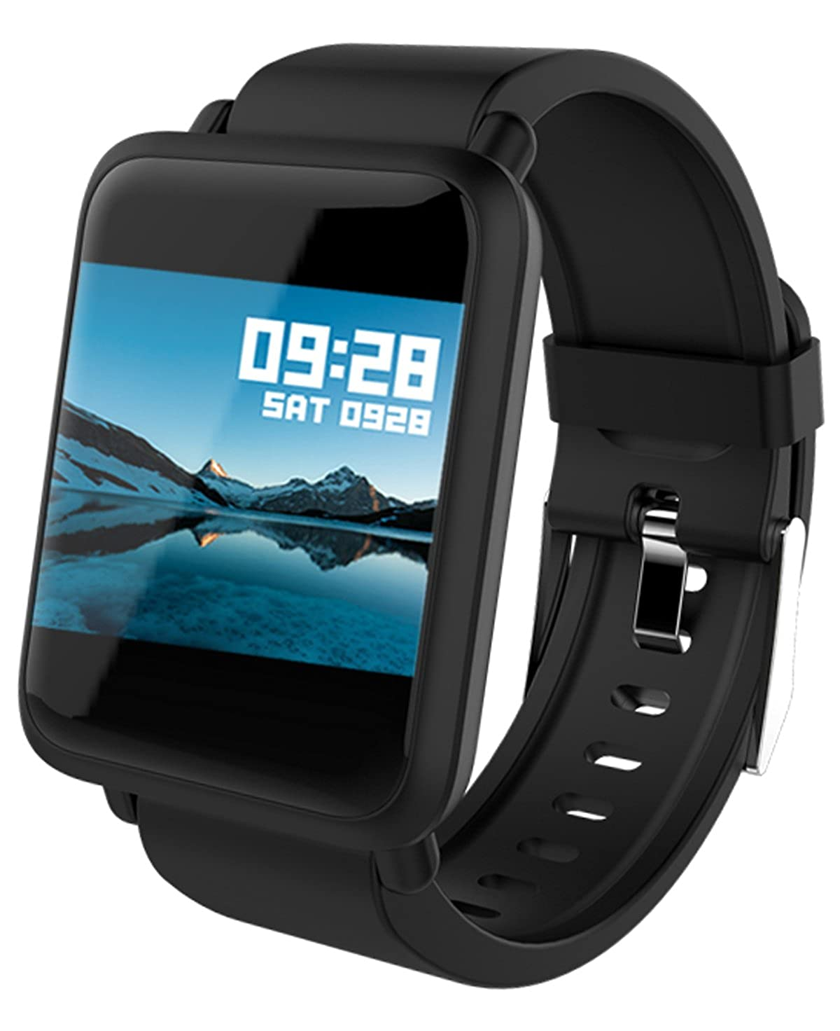 398dfe4990a64 Amazon.com  Fitness Tracker Smart Watch Bluetooth for Android iOS Heart  Rate Blood Pressure Monitor Swimming Sports Activity Tracker Watch  Watches