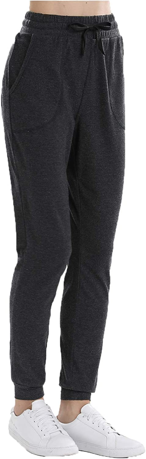 OCIESS Womens Athletic Joggers Pants Sweatpants with Pocket