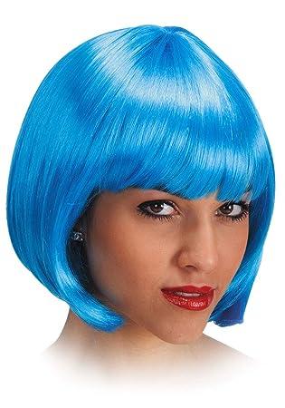 Carnival 02505 - Peluca de pelo corto, color azul