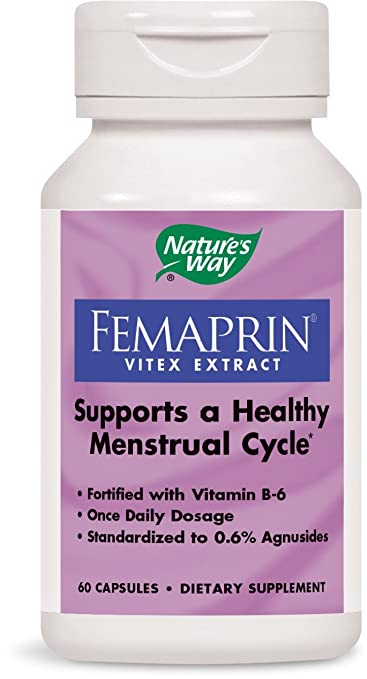 Nature's Way Femaprin (Vitex), 60 Capsules