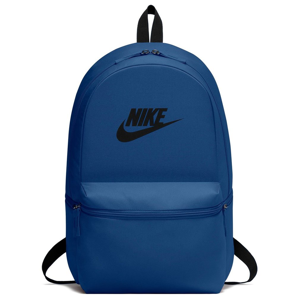 NIKE Backpack Unisex Heritage Sportswear (One Size, Blue)