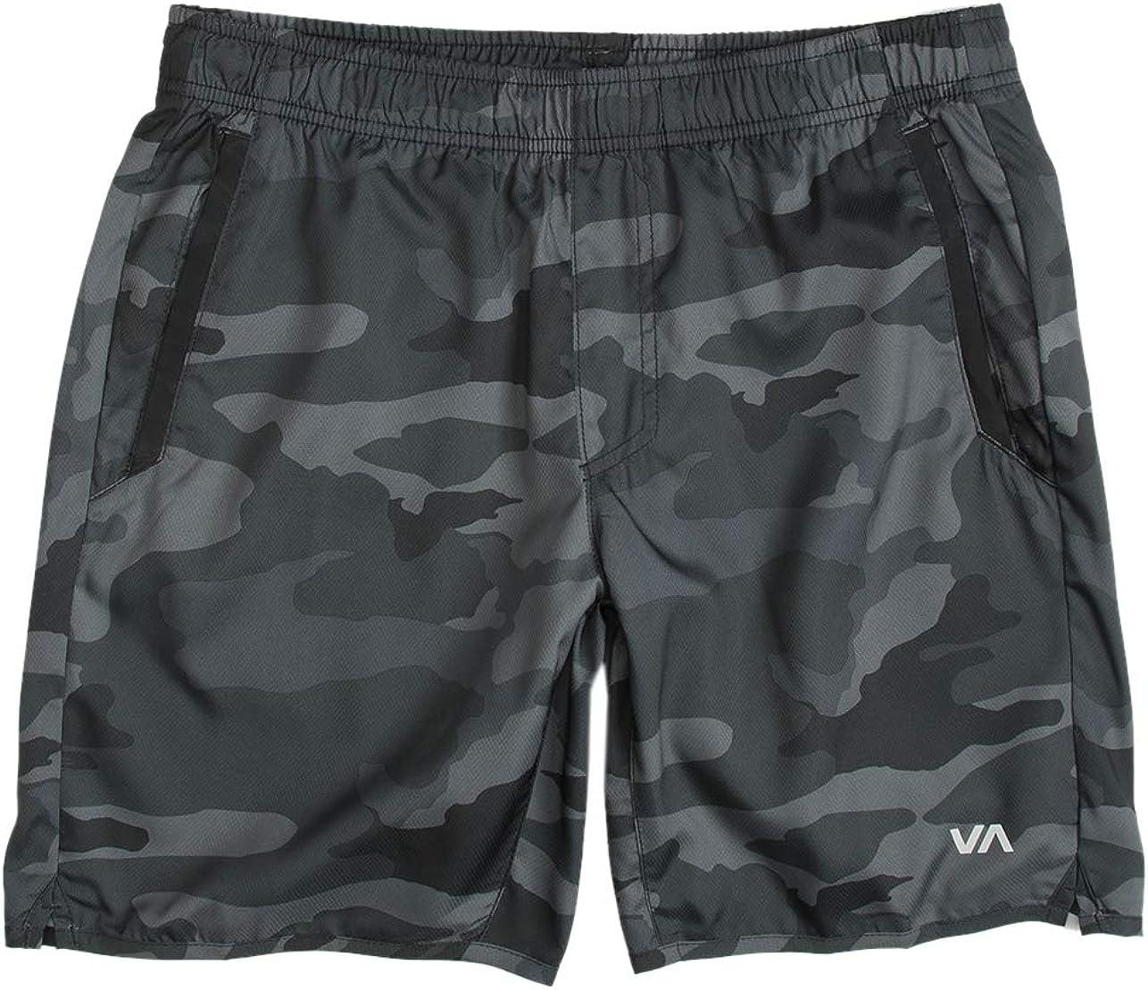 RVCA Mens Yogger Sport Short