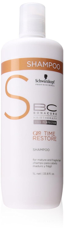 BC Bonacure Q10 Plus Time Restore - Champú para cabello frágil y maduro, 1000 ml Henkel Professional 2093088 44220_-1000ML