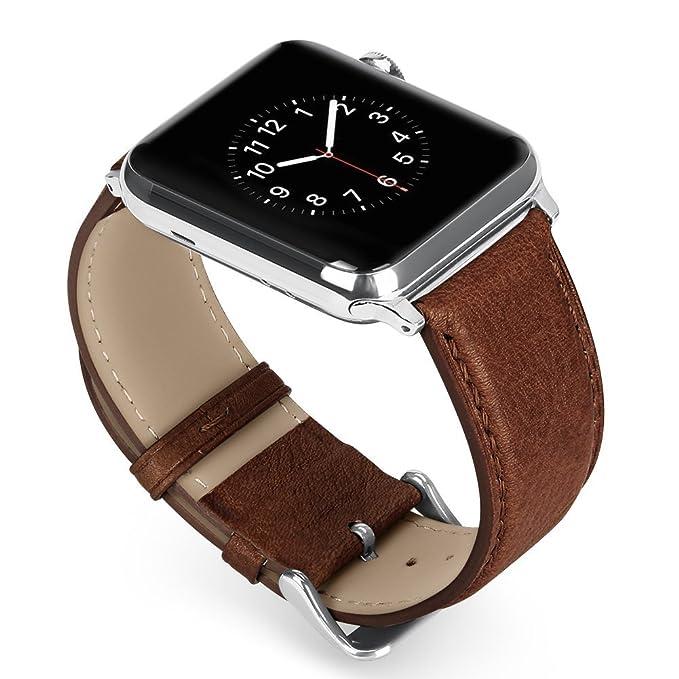4 opinioni per Benuo Genuino Pelle Cinturino di Apple Watch 42mm Sostituzione Cinturini di