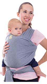 Amazon Com Baby Wrap Ergo Carrier Sling By Cuddlebug Available