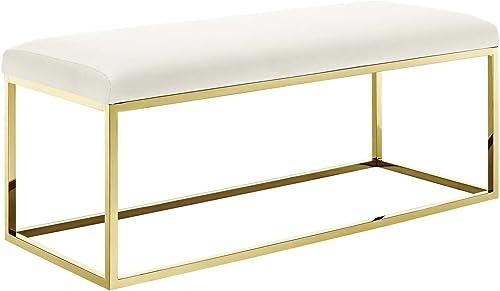 Modway Anticipate Velvet Upholstered Modern Bench