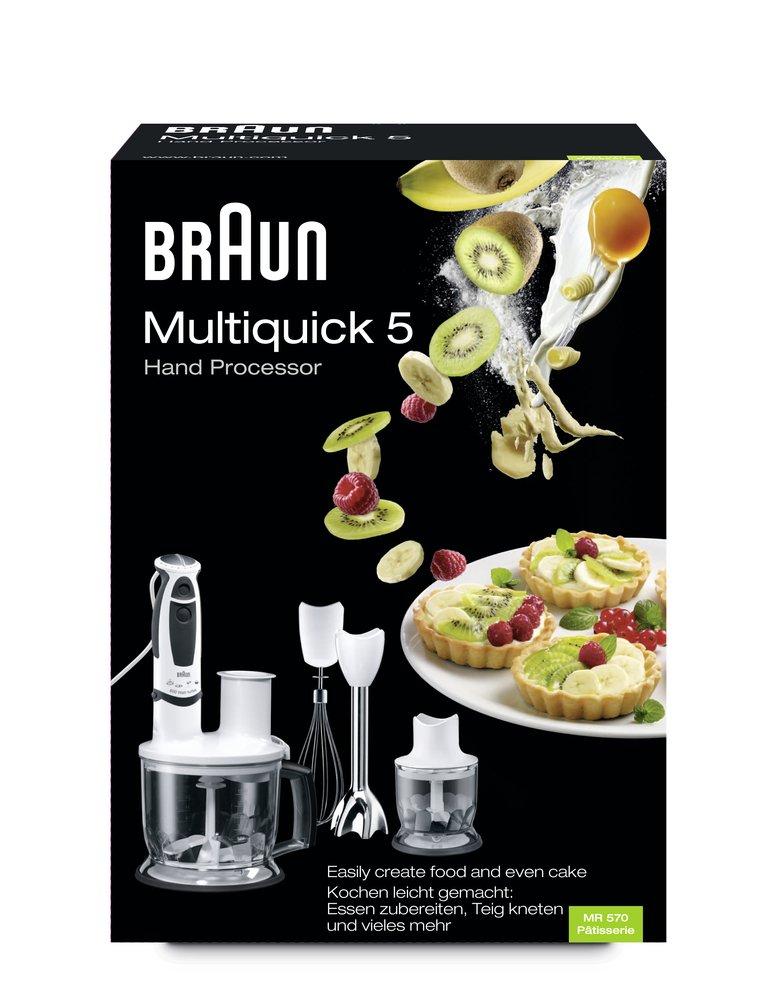 Braun 64196736 Mixeur Plongeant Multiquick 5 MR570: Amazon.fr ...