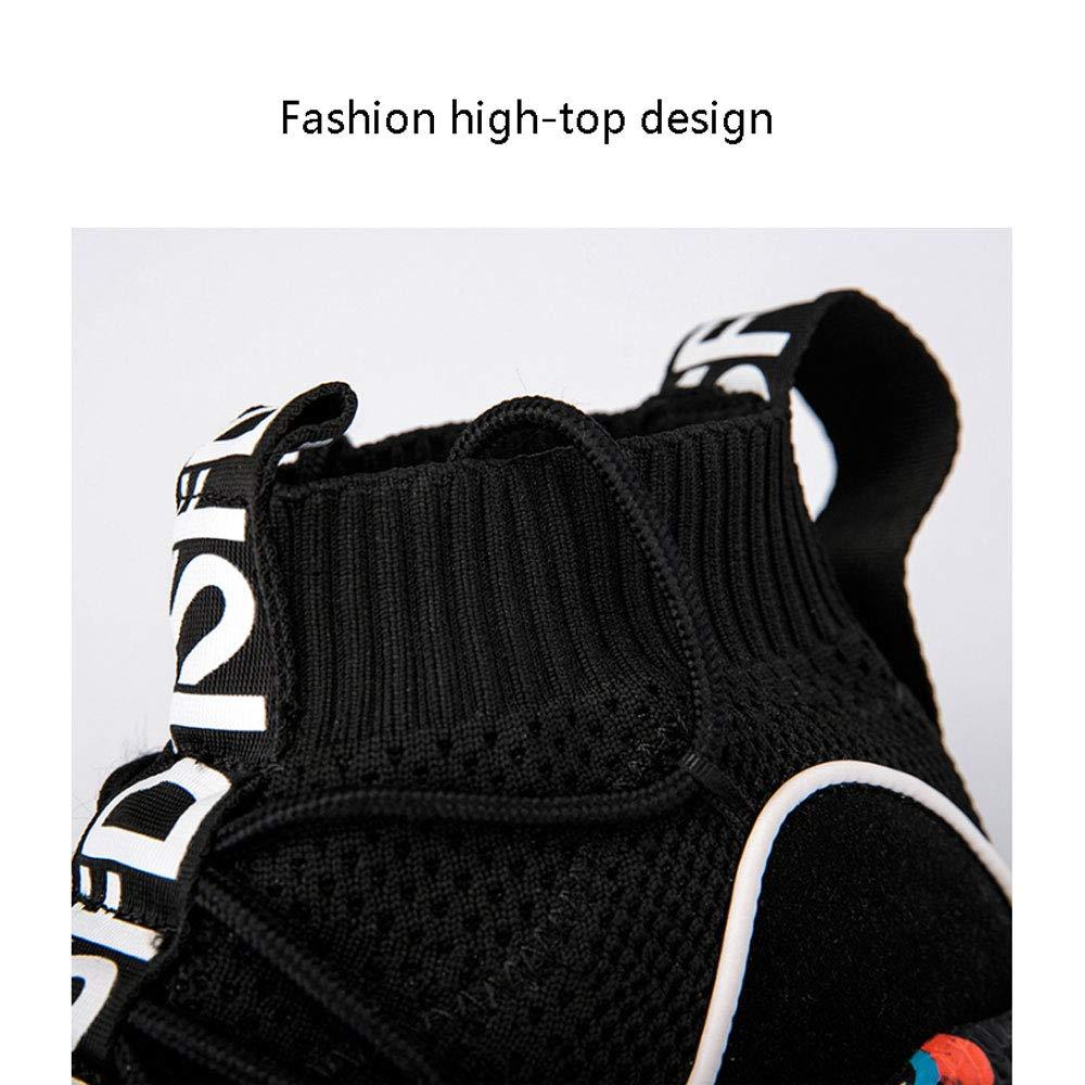 YSZDM Basketball Schuhe, High Top Stoßdämpfer Sportschuhe