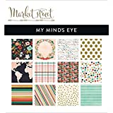 My Minds Eye Market Street Paper Pad, 6 by 6-Inch, Ashbury Heights
