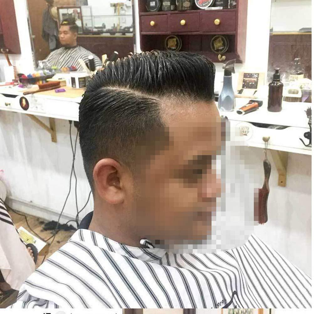 Healifty Haarschneideschutz Professional Haircut Cape Static-free Wasserdichte Haarfrei-Sch/ürze mit Schnappverschluss