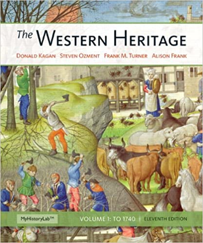 Western Heritage The Volume 1 11th Edition