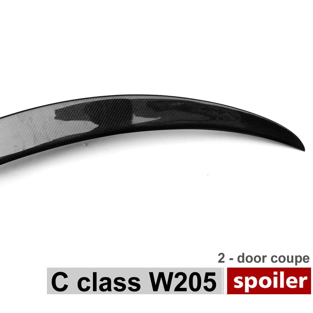 AMG Style en fibre de carbone Spoiler Coffre arri/ère pour Classe C W205/2/portes 2015/+