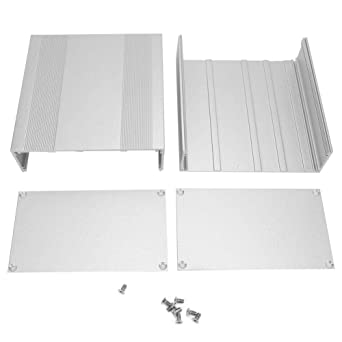 Caja de caja de aluminio, Caja de caja electrónica de proyecto de ...