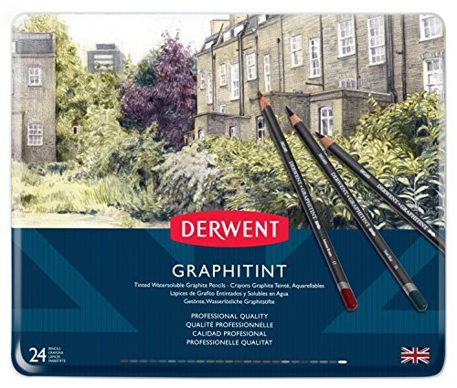 Derwent Graphitint Pencils Metal 0700803 product image