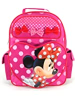 """Backpack - Disney - Minnie Mouse - Perfect Bows (16"""" Large School Bag"""