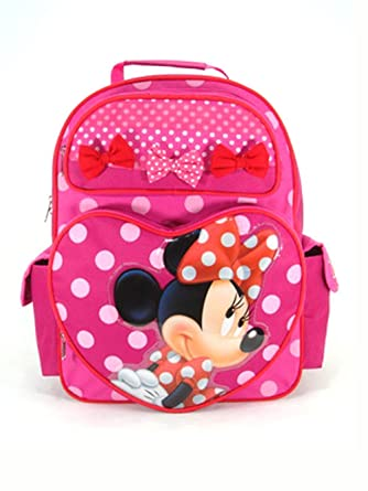 238b158f96ec Image Unavailable. Image not available for. Color  Backpack - Disney - Minnie  Mouse ...