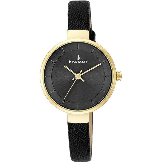 Reloj Radiant mujer North Star Small Gold Black RA455203 [AB9305] - Modelo: RA455203: Amazon.es: Relojes