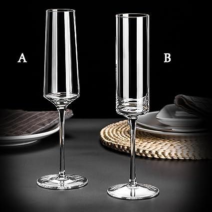 Copa De Champagne Soplado Artificial Vidrio Sin Plomo Copa De Vino Dulce Copa De Vino Espumoso