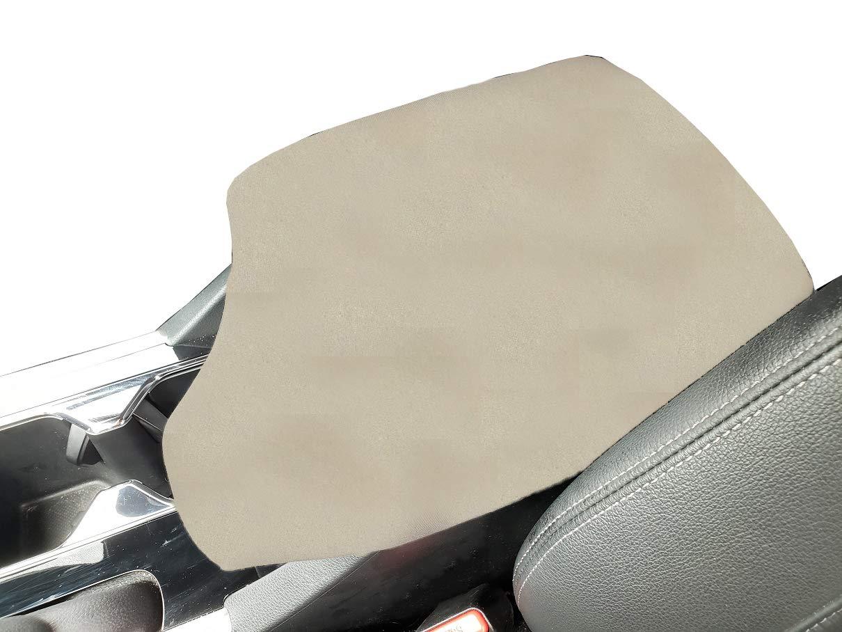 Car Console Covers Plus Custom Fits Subaru Crosstrek SUV 2018-2019 Fleece Center Armrest Cover for Center Console Lid Made in USA