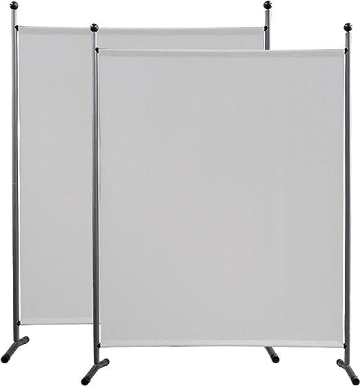 QUICK STAR - Paravientos (2 unidades, 150 x 190 cm), color blanco ...