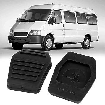 Footprintse Par de 1 embrague de freno Pastilla de pedal de goma para Ford Transit MK6 MK7 2000-2014 (Color: negro): Amazon.es: Coche y moto