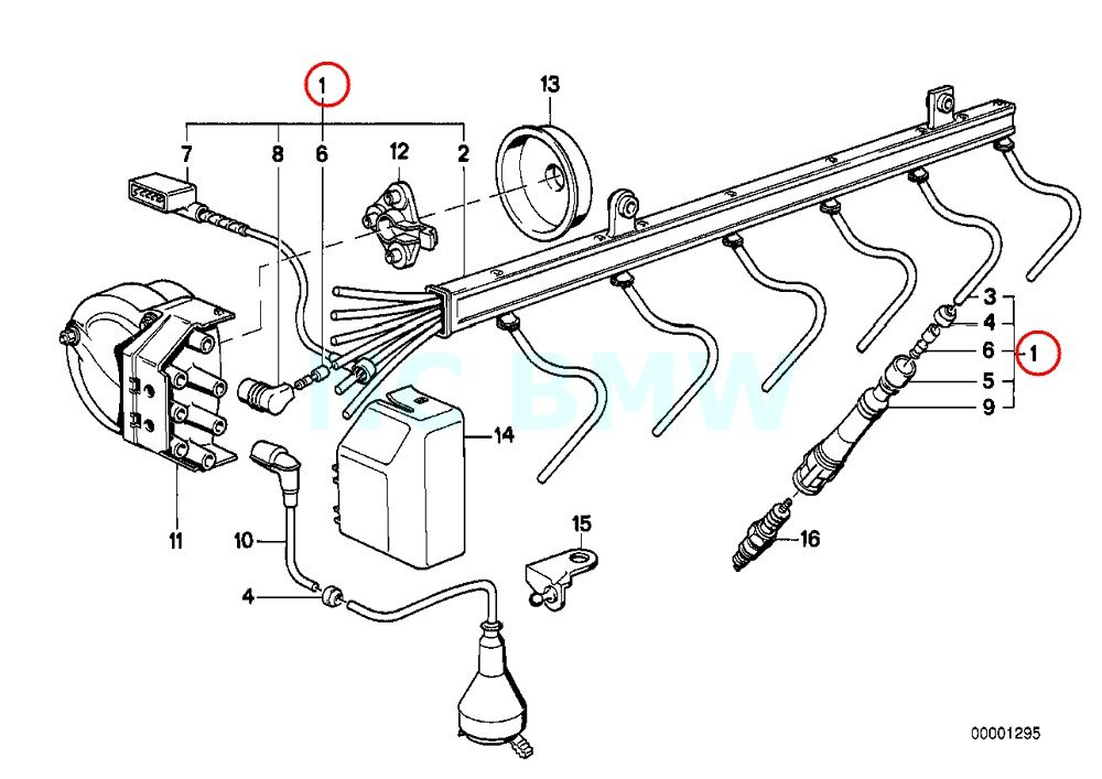 Amazon Com Bmw Genuine Ignition Harness With Marten Repeller