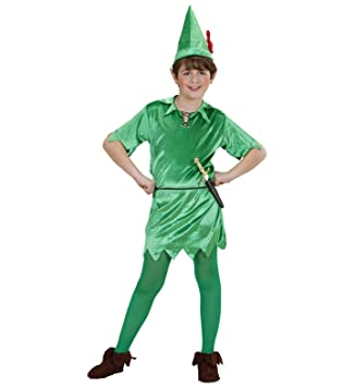 WIDMANN disfraz de Peter Pan, talla para niños de 11/13 años