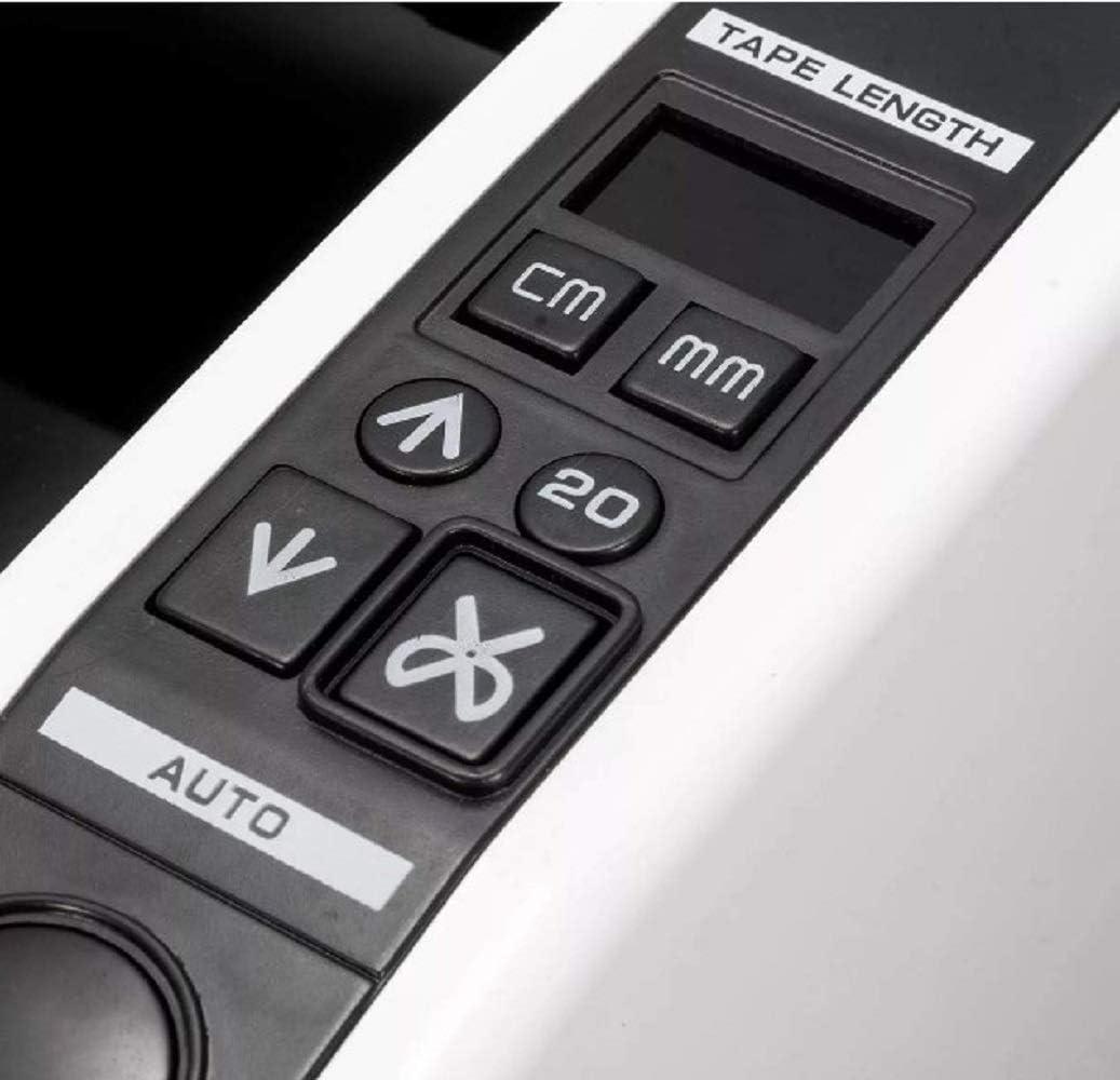 HUKOER Automatischer Bandspender Elektronischer Bandspender Maschinen-definierte L/änge passend f/ür 2maximale Bandbreite Verpackungsklebebandschneider 39 maximale Bandschnittl/änge
