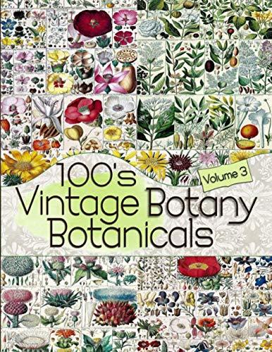 (100's Vintage Botany Botanicals Volume 3 (Floral Ephemera Series))
