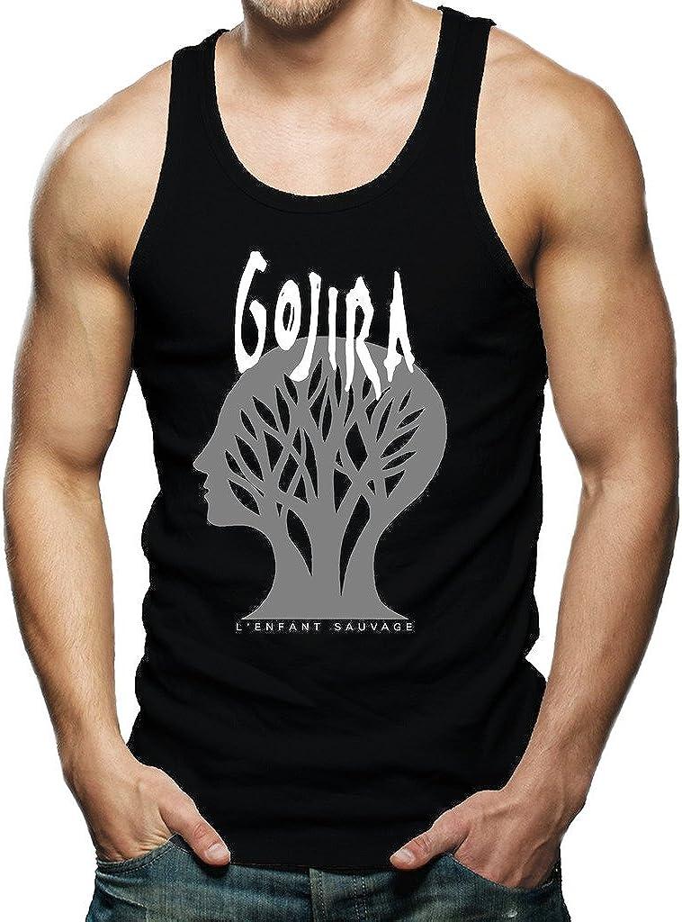 Gojira L'Enfant Sauvage Godzilla Metal Band Logo Men's Shirt Tank Top