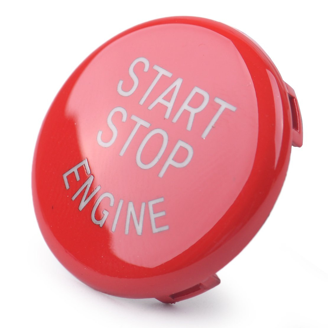 beler Engine Ignition Switch Start Stop Push Button Ring Trim Cover hermeshine