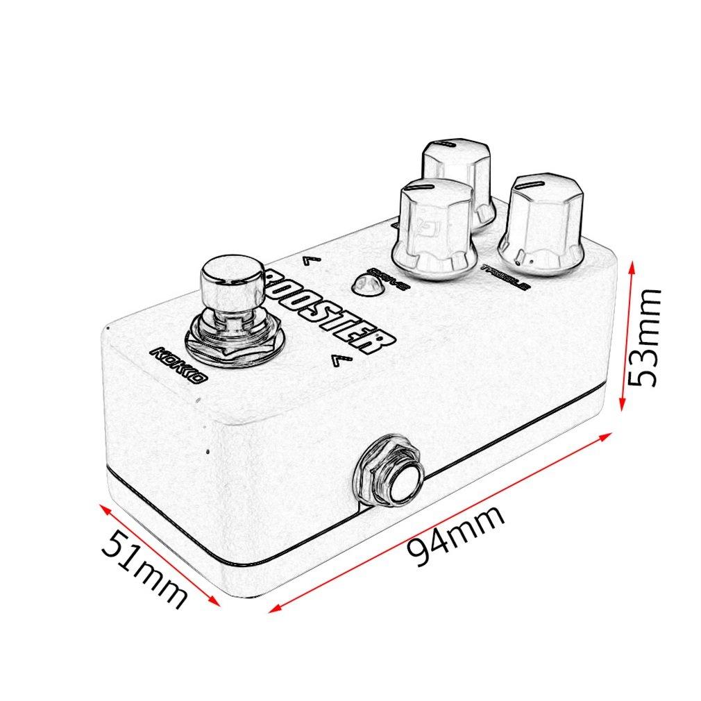 Qulable Aluminum Alloy FCP2 Mini Compressor Pedal Guitar Musical Instruments Effects