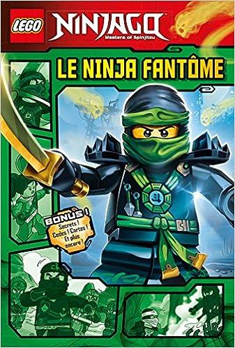 Lego Ninjago : Le ninja fantôme: 9782014018271: Amazon.com ...