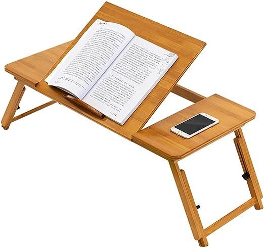 PENGFEI Mesa Portátil Ordenador Mesa Plegable De Bambú para ...