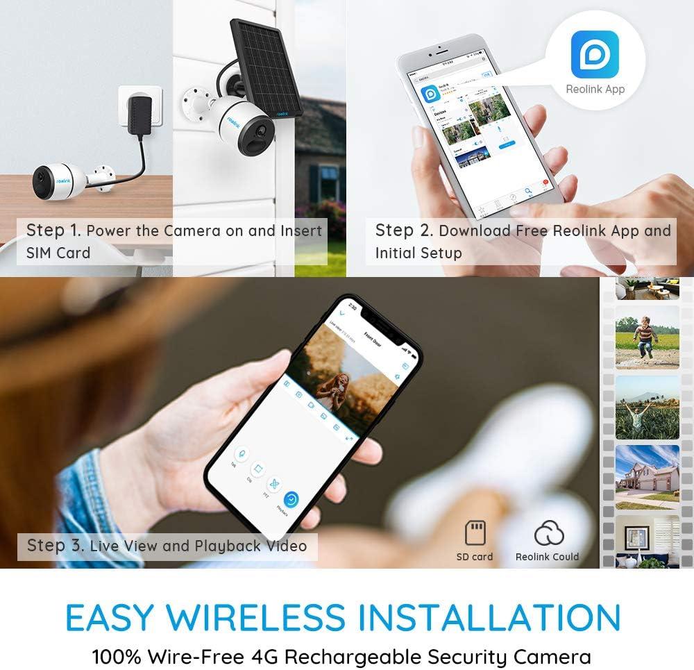 Amazon.com: Reolink - Cámara de seguridad para exteriores 3G ...